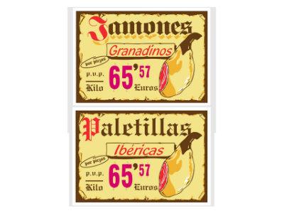 carteles portaprecios madrid